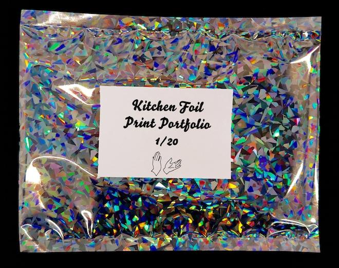 Kitchen Foil Print Portfolio